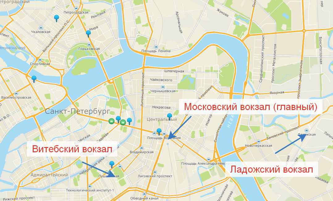 """Брынза"" на карте города"